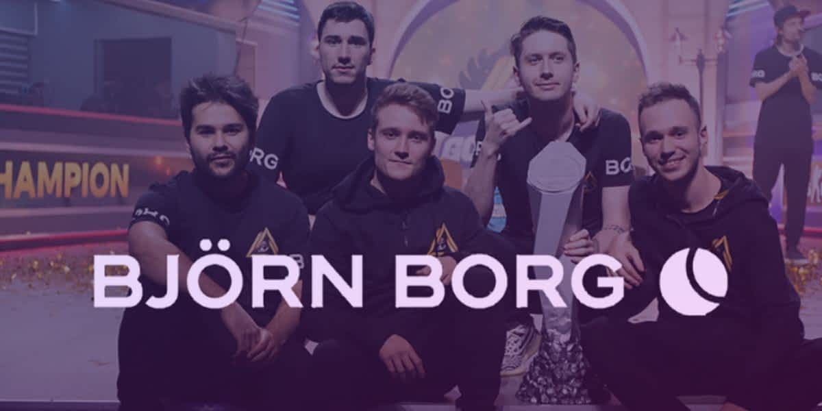 GODSENT Tries On Björn Borg Partnership