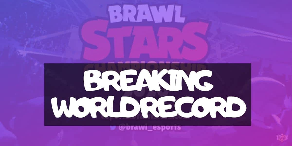 BRAWL STARS CHAMPIONSHIP 2020 IS NOW A RECORD-BREAKING EVENT