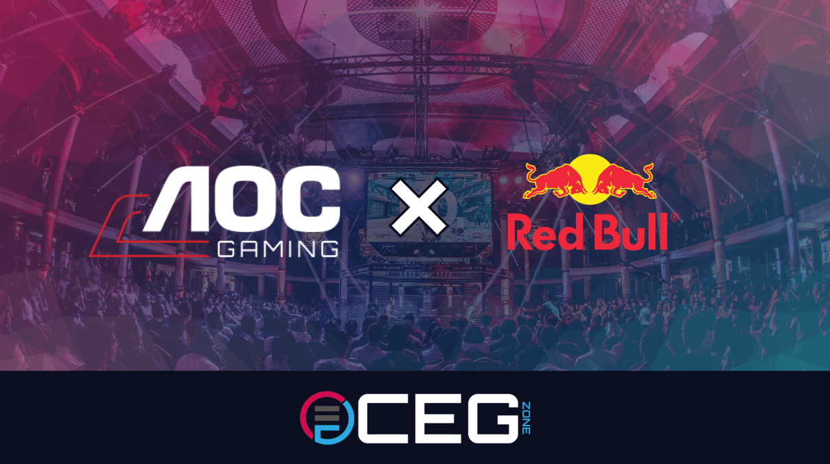 AOC Partners with Red Bull