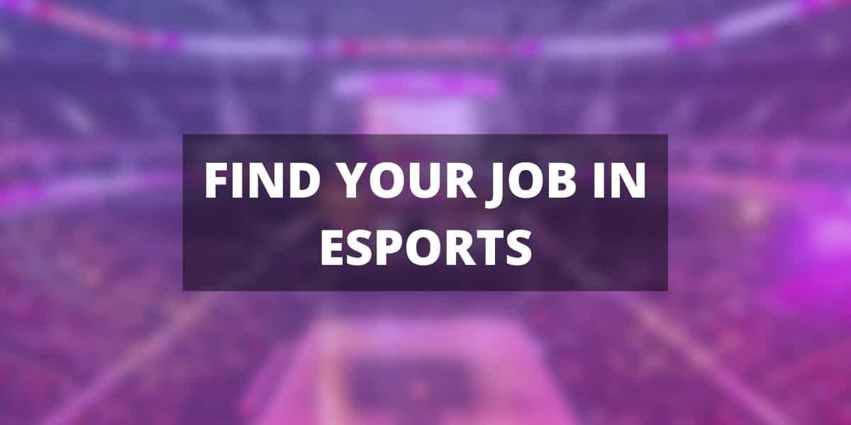 Esports jobs