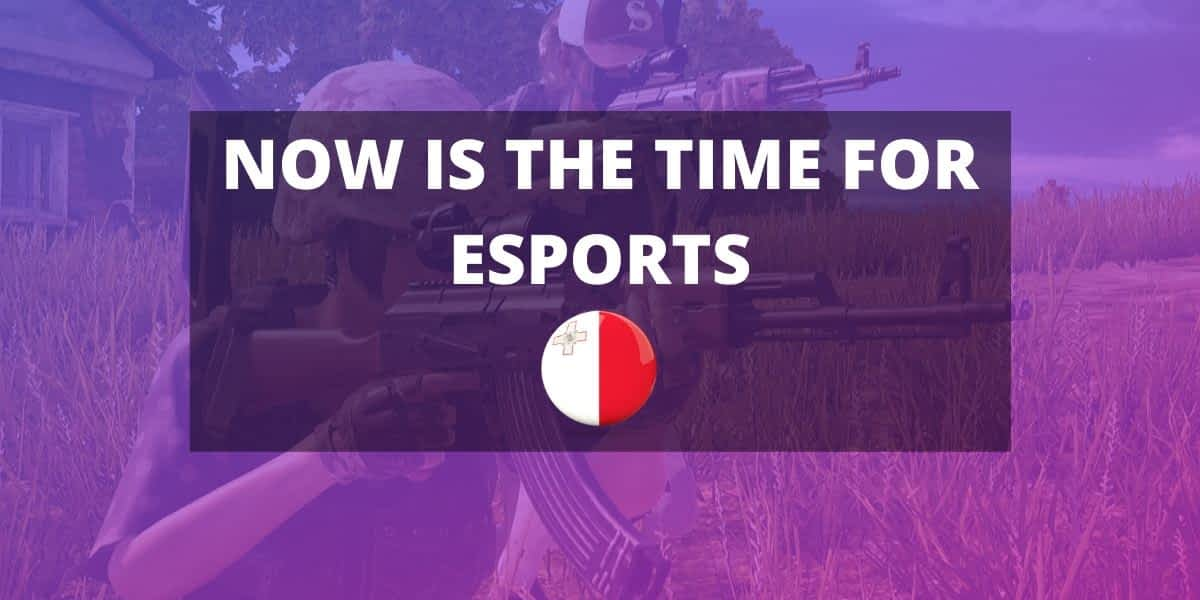 NOW is the time for ESPORTS